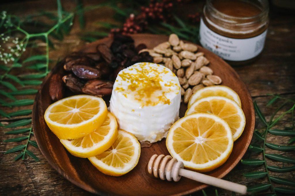 Lemon Kefir Cheese