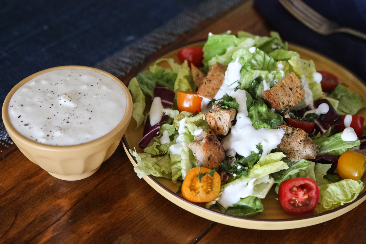 Kefir Blue Cheese Dressing 2-2