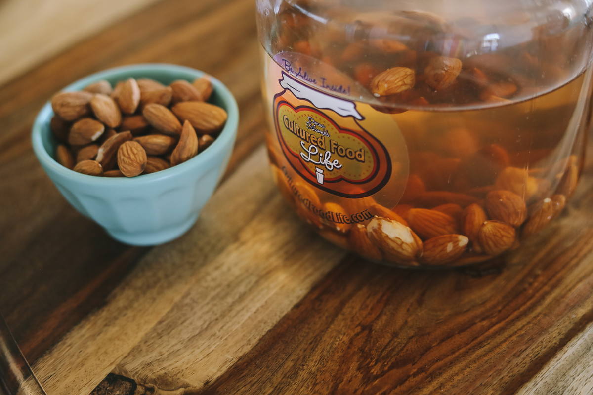 Almonds soaking-2