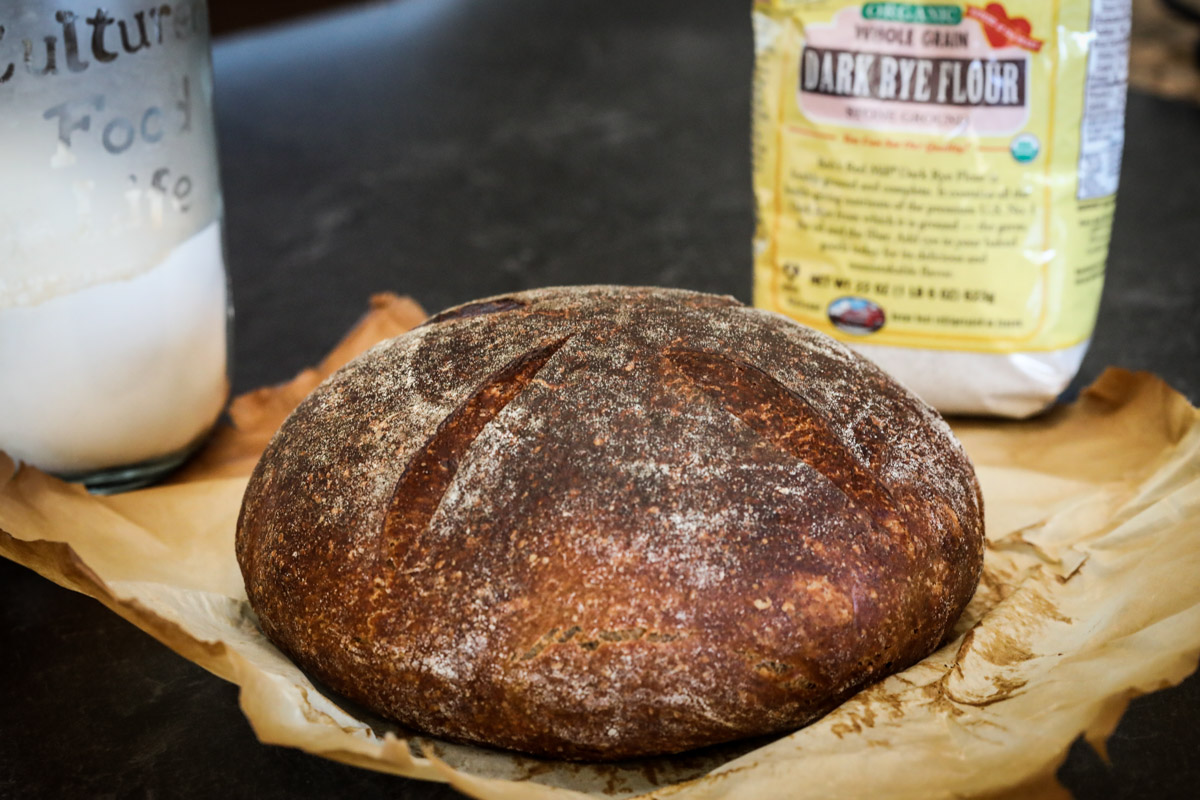Pumpernickle Sourdough -2