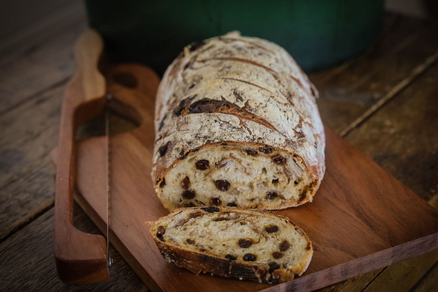 Raisin Pecan SourdoughH-2
