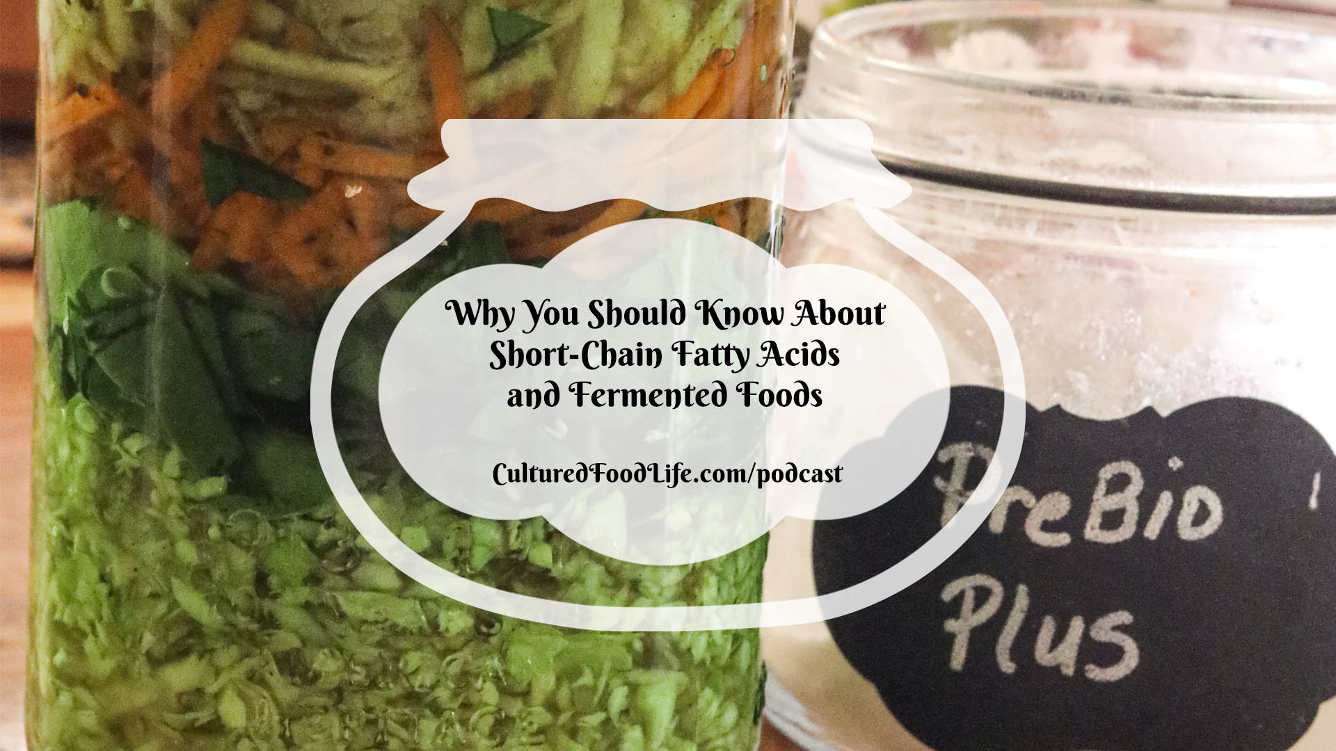 Why You Should Know About Short Chain Fatty Acids and Fermented Foods