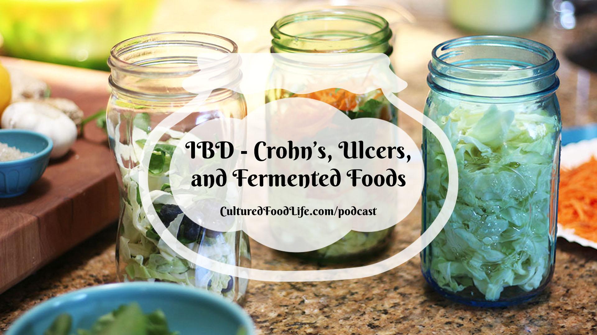 IBD - Crohn's, Ulcers, and Fermented Foods