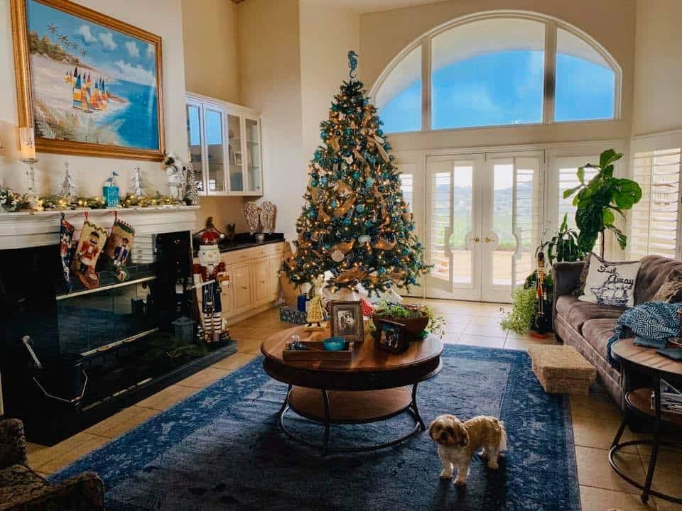 donna's Christmas tree