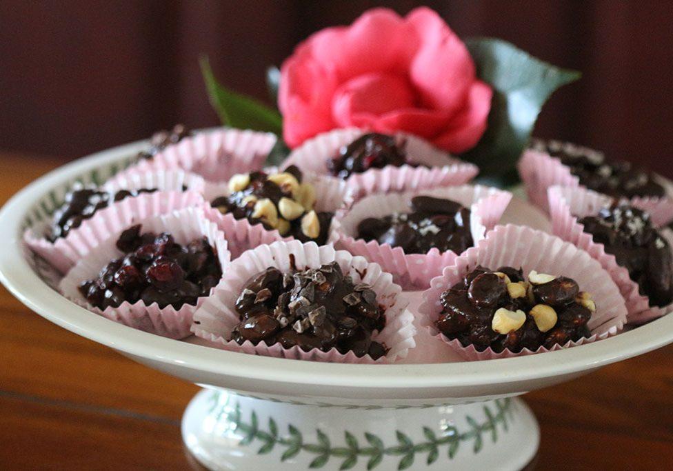 Chocolate kefir nuts