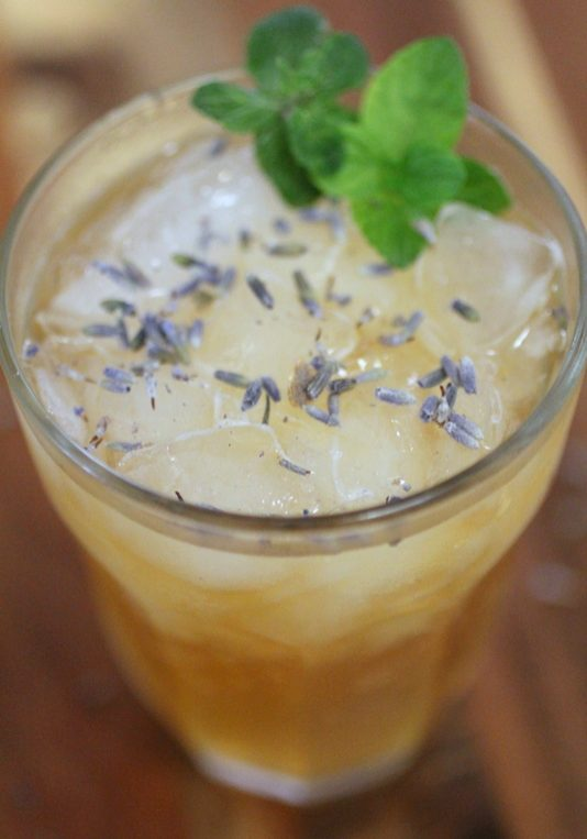 Lavender Kombucha