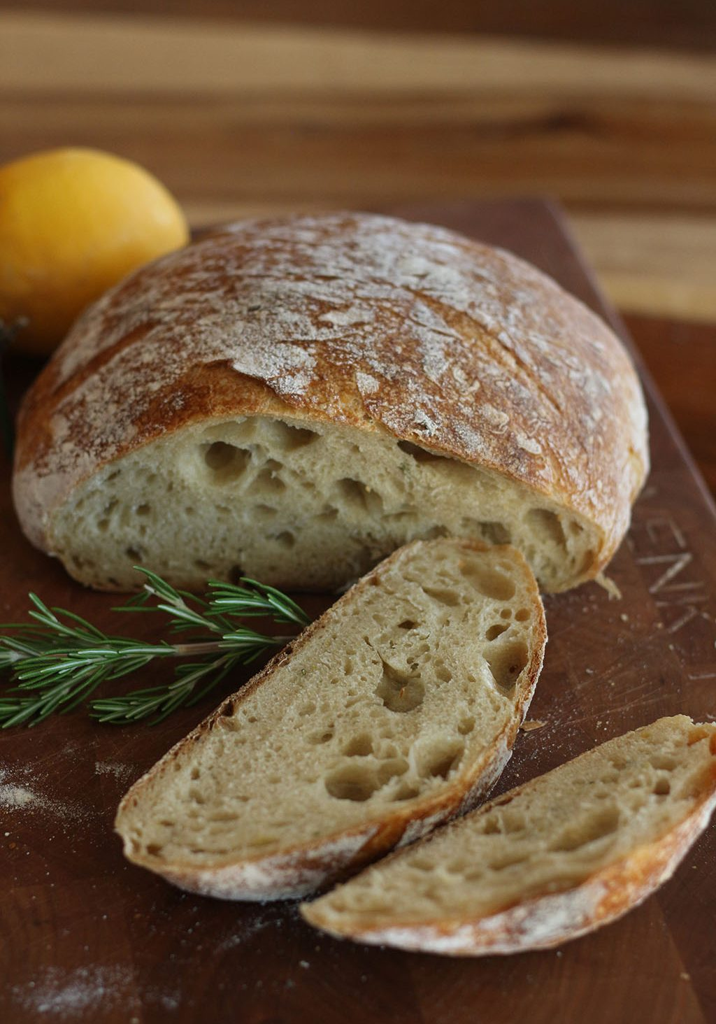 Lemon Sourdough Bread